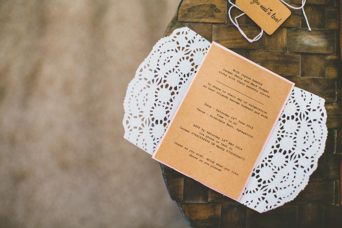 Carmen & Mark DIY Chic Riverdale Barn wedding