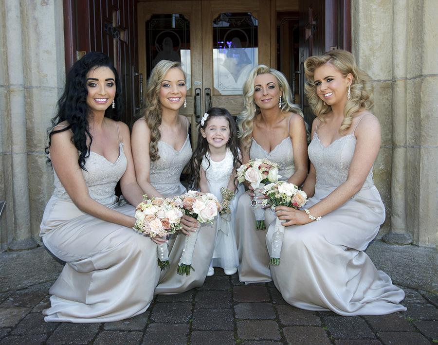 Maurade & Peter wedding at Killyhevlin Hotel