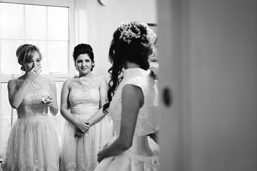 Castle Bellingham wedding by Lauren Rutherford Photography