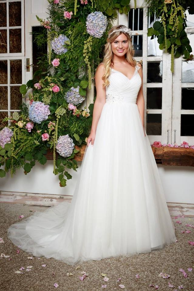 For The Bride Who Loves Lace Available From Romantique Bridal Boutique Magherafelt