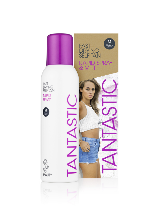 Tantastic Rapid 150ml Can and Box