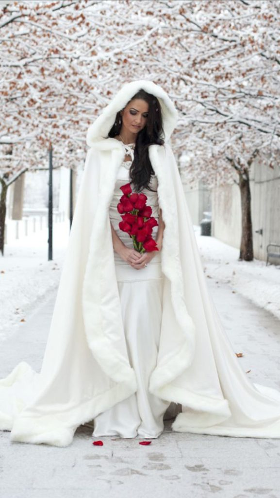The Big Cover Up Winter Bridal Capes Getting Married In