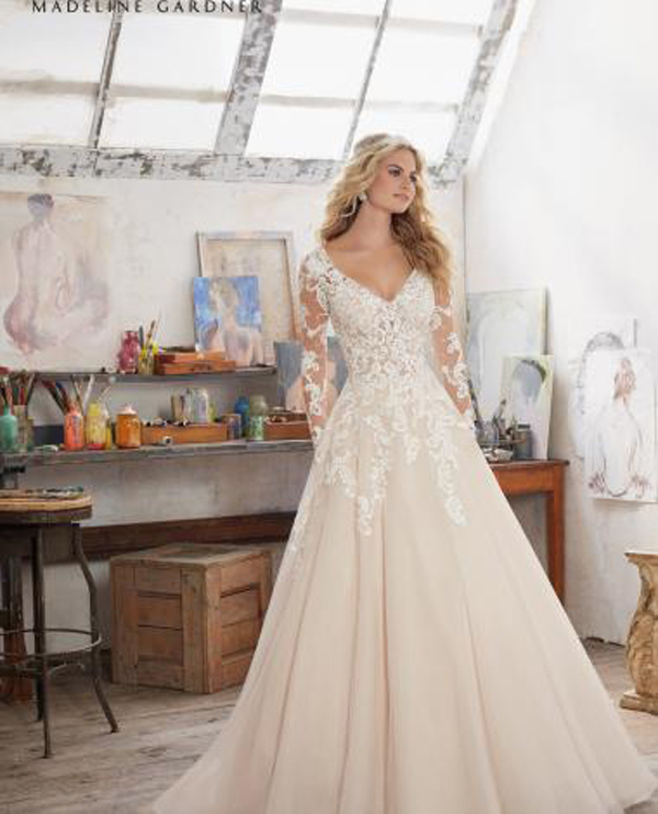 a. The Maira in style 8110, Mori Lee