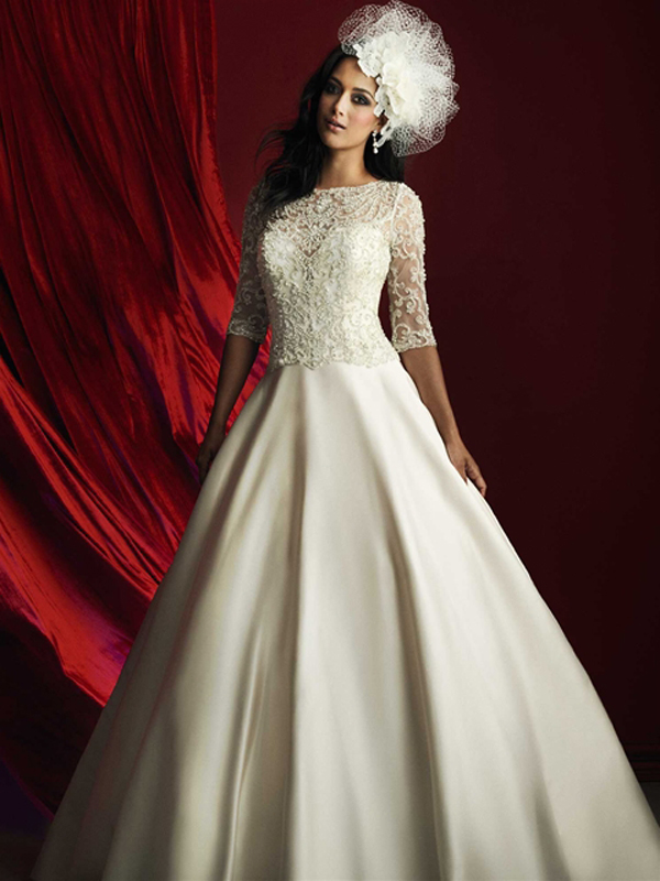 b. Style C368, Allure Bridals Couture Collection