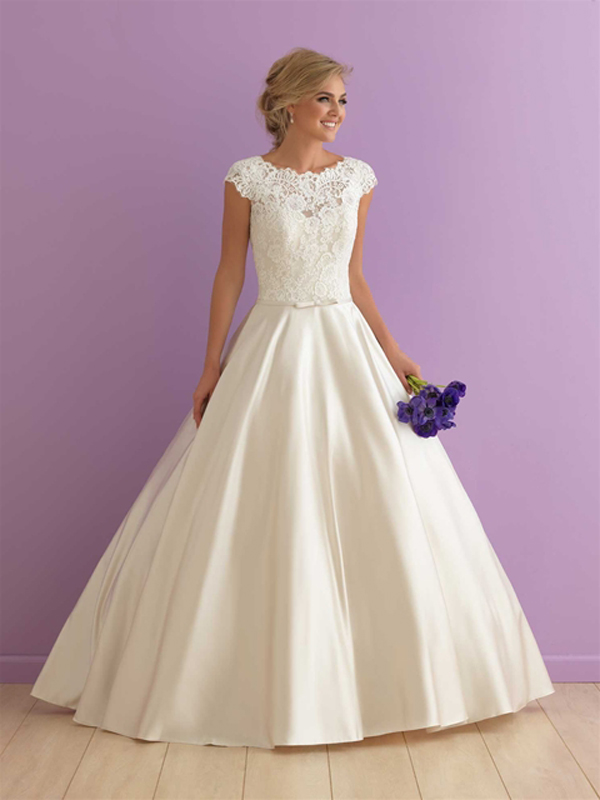 c. Style 2914, from Allure Bridals Romance Collection