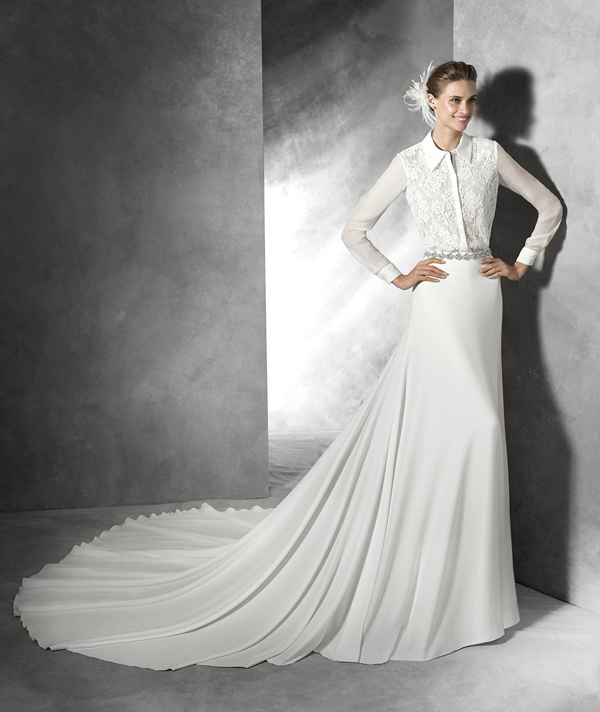 c. The Guadiana, from Pronovias's 2016 Collection