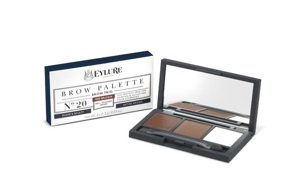 60 08 102- Brow Palette Mid Brown No20 (2)