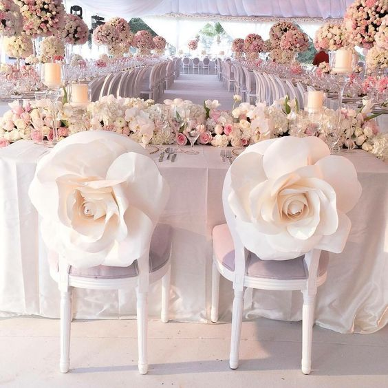 Bride And Groom Wedding Chairs