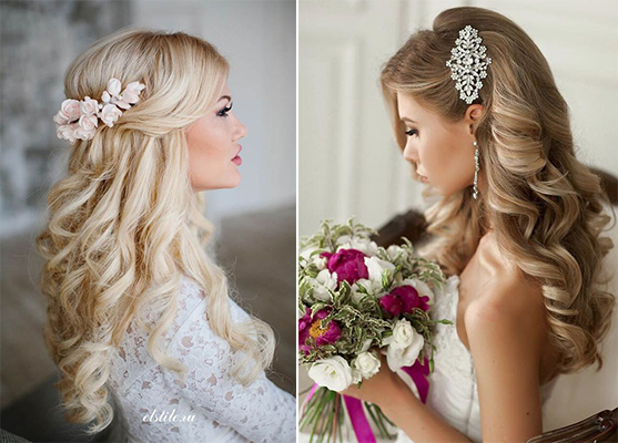 Wedding Hair Hairstyles: 10 Ultra Gorgeous Half Up, Half Down Bridal Hairstyles